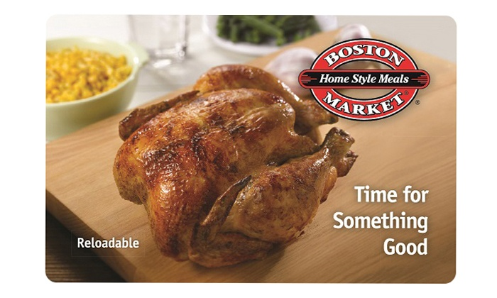 Boston Market: $49.95 for Three $20 eGift Cards to Boston Market ($60 Total Value)