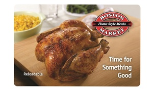 Boston Market – 17% Off eGift Cards
