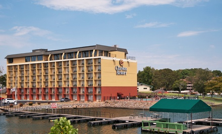 Stay at Clarion Resort On The Lake in Hot Springs, AR; Dates into October Available