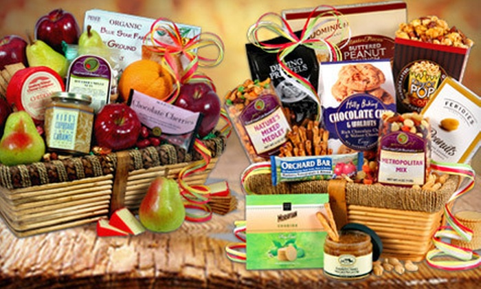 GourmetGiftBaskets.com: $15 for $30 Toward Gift Baskets from GourmetGiftBaskets.com