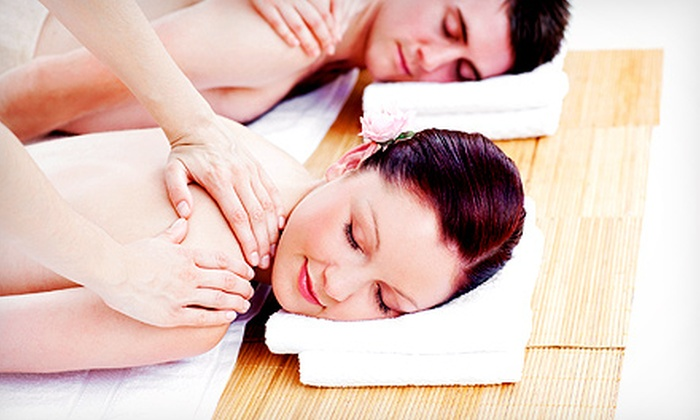 Stepping Stones Salon & Medspa - Franklin - Randolph: $59 for a 60-Minute Couples Massage at Stepping Stones Salon & Medspa ($120 Value)