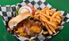 250 Sports Grill - Goochland: Burger or Sandwich Meal for Two or Four with Appetizers, or 50 or 100 Wings at 250 Sports Grill (Up to 49% Off)