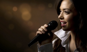 Vocal Coach Hajo B. Belton: 2x oder 4x 30 Min. professioneller Gesangsunterricht bei Vocal Coach Hajo B. Belton (50% sparen*)