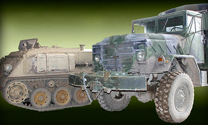 Drive A Tank - Kasota: $99 for a Drive A Tank Quad Package at Drive A Tank ($310 Value)