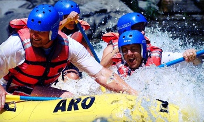 Adirondack River Outfitters - Multiple Locations: $99 for Whitewater Rafting for Two on Black River or Hudson River from Adirondack River Outfitters ($198 Value)