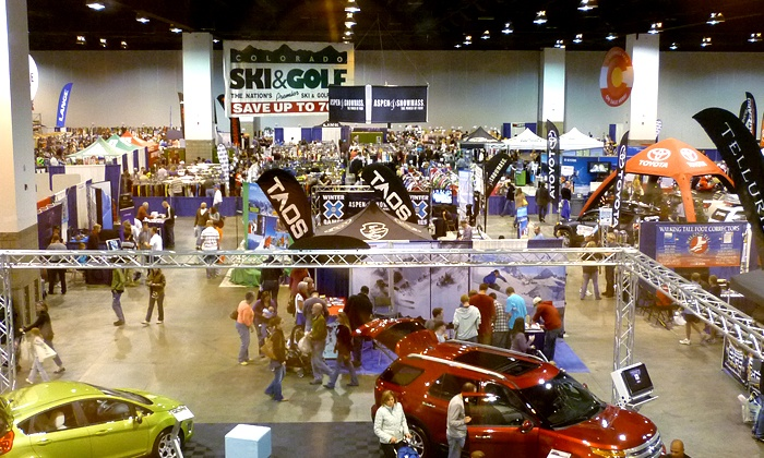 Colorado Ski & Snowboard Expo - Colorado Convention Center: $22 for One-Day Admission for Two to the Colorado Ski & Snowboard Expo ($30 Value)