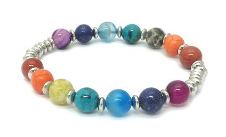 Genuine Chakra Stretch Bracelet
