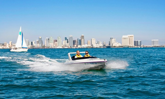 Speed Boat Adventures - Downtown: $69 for a Harbor Speedboat Tour for Two from Speed Boat Adventures ($129 Value)