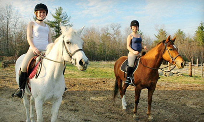 Integrity Equestrian Center - Holden: Two or Four 30-Minute Private Horseback-Riding Lessons at Integrity Equestrian Center in Jefferson (Up to 53% Off)