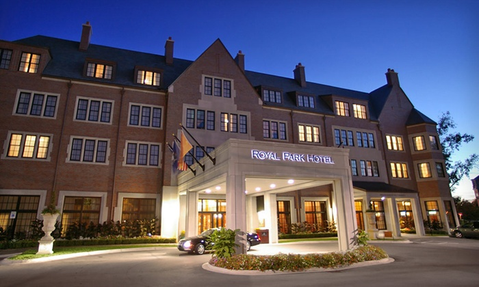 Royal Park Hotel - Downtown Rochester: One-Night Stay at Royal Park Hotel in Rochester, MI