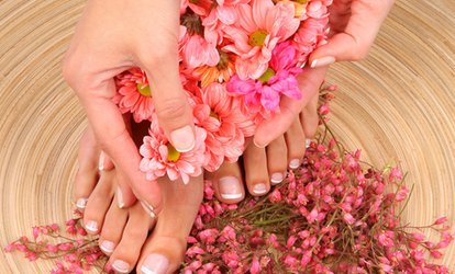 image for Gel Manicure, Pedicure, or Both from Head 2 Toe Hair and Beauty (Up to 65% Off)