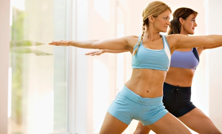 10 or 20 Hot Yoga or Barre Classes for First Time Customers at The Hott Spot Extreme Wellness (Up to 67% Off)