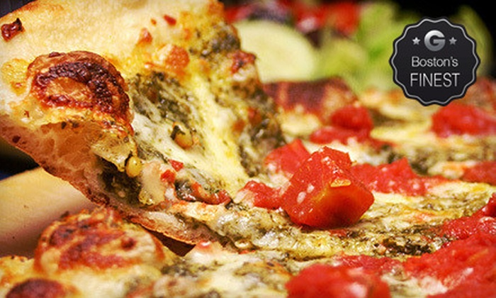Sweet Tomatoes Pizza - Multiple Locations: Pizza and Italian Food at Sweet Tomatoes Pizza (Half Off). Three Options Available.