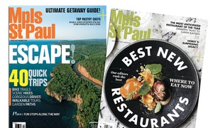 "Mpls.St.Paul Magazine: One- or Two-Year Subscription to ""Mpls.St.Paul Magazine"" (Up to 50% Off)"