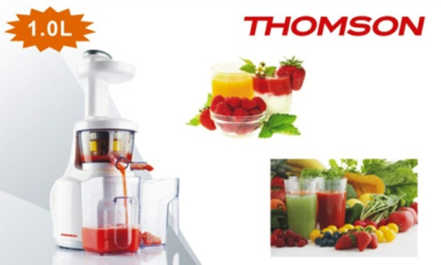 Thomson Slow Juicer Review : 73% off From $999 for a Thomson Slow Juicer (worth up to $3,968). Early Bird Promotion on May ...
