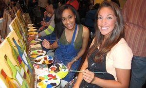 Pinot's Palette - Little Rock: $35 for a Paint & Sip Art Session for Two People at Pinot's Palette ($70 Value)