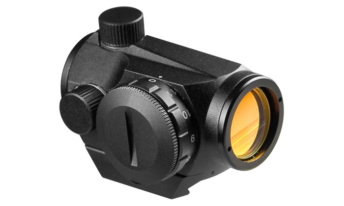 20mm Red-Dot Compact Riflescope with 1x Magnification
