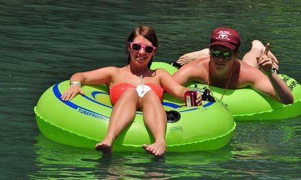 River Tubing for Two or Four at Comal Tubes in New Braunfels (Up to 46% Off)