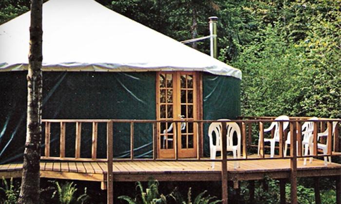 Camp Dakota - Camp Dakota: Yurt Camping and Paintball for 6 or 10 at Camp Dakota (50% Off)