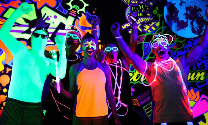 B Extreme Events - MCC Mesa Campus: Admission to Night Envy Neon Run for One or Two from B Extreme Events on Saturday, October 10 (Up to 55% Off)