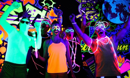 Admission to Night Envy Neon Run for One or Two from B Extreme Events on Saturday, October 10 (Up to 55% Off)