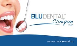Bludental Clinique: Visita, pulizia dentale e sbiancamento led o laser presso Bludental Clinique (sconto fino a 52%). Valido in 16 sedi
