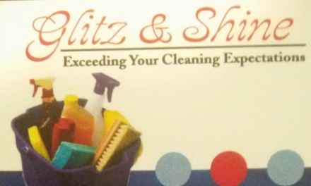 Up to 56% Off Two or four hour cleaning at Glitz and Shine