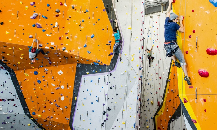 "First Ascent Climbing - First Ascent Avondale: ""Learning The Ropes"" Class for One or Two at First Ascent Climbing (Up to 49% Off)"