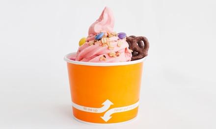$5.50 for $10 Worth of Kulture Frozen Yogurt at FreshCoast Health Food Bar