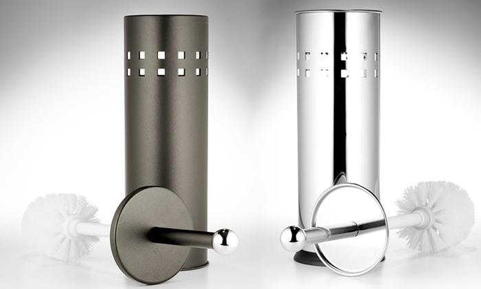 Modern Toilet Brush Sets: Chrome or Bronze Toilet Brush Set. Multiple Options Available. Free Returns.