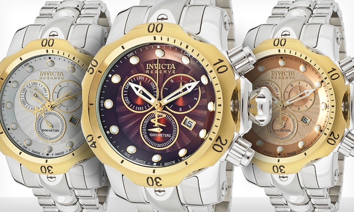 Invicta Men's Venom Watches: $250 for an Invicta Men's Venom Watch ($1,595 List Price). Multiple Colors Available. Free Shipping.