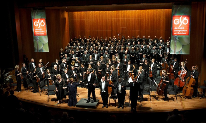 Georgia Symphony Orchestra - Multiple Locations: Georgia Symphony Orchestra (February 20–April 30)