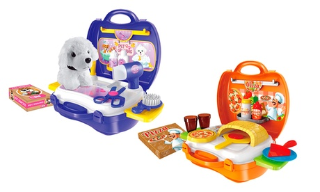 World Tech Toys Activity Suitcase Play Set (14, 16, 22, or 26-Piece) 30bb8a5c-9810-11e7-b12f-002590604002