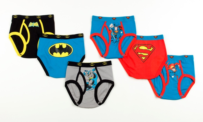 DC Comics Boys Superhero Undies | Groupon Goods