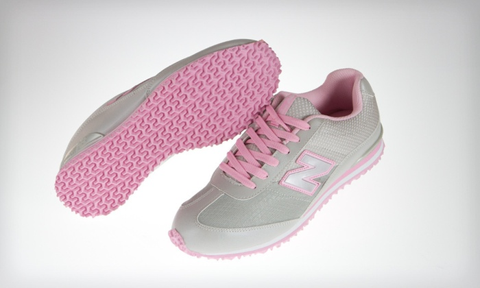 New Balance Kids' 490 Sneakers: $34 for New Balance Kids' 490 Sneakers in Gray and Pink ($44.99 List Price). Free Shipping. Multiple Sizes Available.