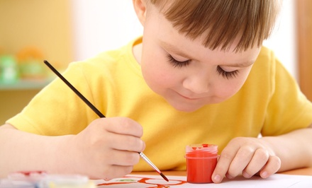 One or Two One-Hour Art Workshops for One or Two Children at Abrakadoodle (Up to 54% Off)
