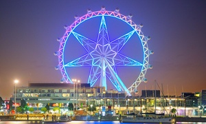 Melbourne Star Observation Wheel: Melbourne Star Observation Wheel - Child ($18) or Adult Pass ($30), Docklands (Up to $35 Value)