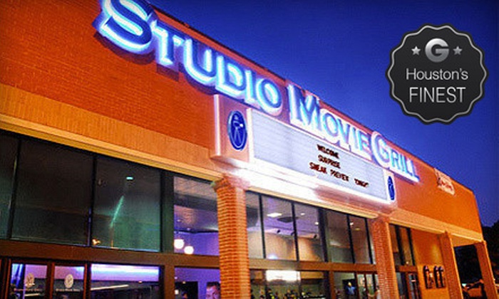 Studio Movie Grill - Multiple Locations: $5 for a Movie and Soda at Studio Movie Grill (Up to $12.74 Value). Two Locations Available.