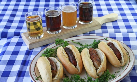 $12 for $20 Worth of Gourmet Bratwursts, Beer, and Other German Food at Brats Brothers