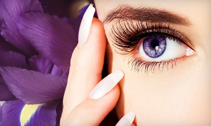 Avenue 42 Style Studio - Monroe Ward: Partial or Full Eyelash Extensions at Avenue 42 Style Studio (Up to 51% Off)