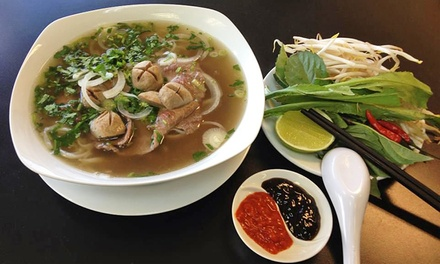 Vietnamese Meal with Appetizers and Entrees for Two or Four at PHOever Maine (Up to 47% Off)