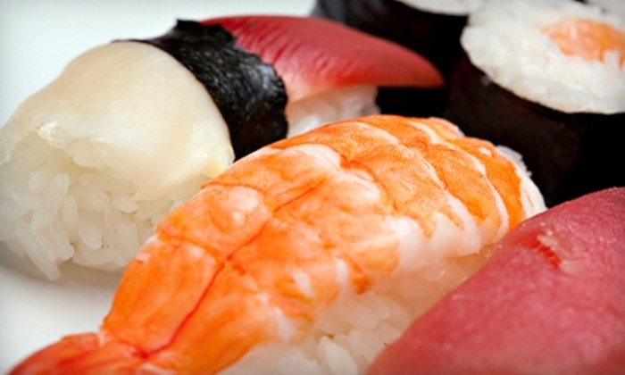 Tokyo Sushi - Multiple Locations: $20 for $40 Worth of Sushi and Hibachi Cuisine at Dinner at Tokyo Sushi