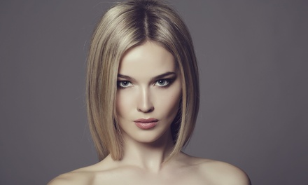 Haircut or Partial Highlights or Keratin Treatment at Toscana European Day Spa (Up to 48% Off)