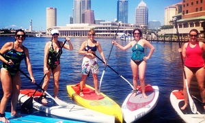 WhatSUP South Tampa: Two-Hour Scenic Stand-Up Paddleboard Tour for One or Two from WhatSUP South Tampa (Up to 45% Off)