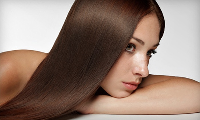 Hearts New York Salon - Midtown: Haircut Package or Cashmere Smoothing Treatment at Hearts New York Salon (Up to 70% Off). Four Options Available.
