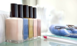One Gel Manicure Or One Or Two Regular Mani-pedis At Ming Hair & Nail Spa (up To 53% Off)