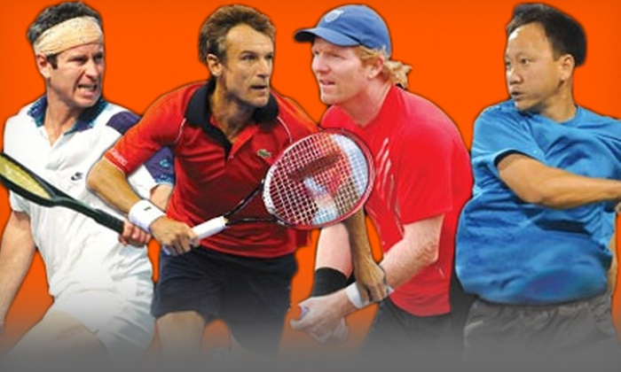 Champions Challenge - Downtown: Champions Challenge Tennis Event at Tampa Bay Times Forum on Friday, November 9 (Up to Half Off)