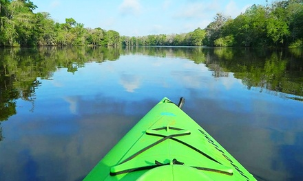 Downriver Kayak Trip with Shuttle for 2, 4, 8, or 12 from Anderson's Outdoor Adventure (Up to 34%Off)