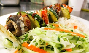 Presto Grill- French Market: $10 for $15 Worth of Food at Presto Grill- French Market