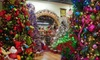 The Christmas Palace - Multiple Locations: Decorations, Ornaments, and Artificial Trees at The Christmas Palace (Half Off). Two Options Available.